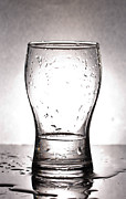 Glass With Water  Print by Chatchawin Jampapha