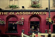 London England  Mixed Media - Glassblower Pub by Louise Fahy