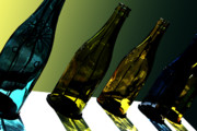 Sparkling Wines Photo Metal Prints - Glassworks Metal Print by Barbara  White