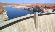 Glen Canyon Prints - Glen Canyon Dam Print by Will Borden