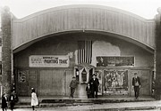 Glen Metal Prints - Glen Lyon PA. Family Theatre Early 1900s Metal Print by Arthur Miller