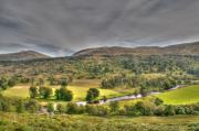 Lyon Prints - Glen Lyon Scotland Print by Chris Thaxter