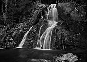 Glen Metal Prints - Glen Moss Falls Vermont Metal Print by Jim Dohms