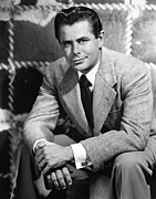 Cufflinks Framed Prints - Glenn Ford, Paramount Pictures, 1950 Framed Print by Everett