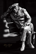 Pianist Metal Prints - Glenn Gould Metal Print by Andrew Fare