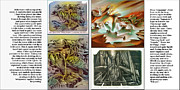 Burning Bush Drawings Framed Prints - Glenn Litho-Diary 1981-85 Framed Print by Glenn Bautista