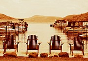 Cooperstown Photos - Glimmerglass Lake by Sherry Sparks