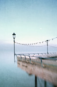 Sussex Prints - Gloaming At End Of The Pier Print by Paul Grand Image
