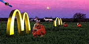 Ronald Mcdonald Art - Global by Monday Beam