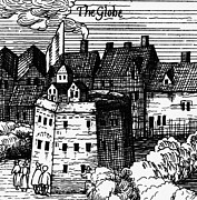 1616 Framed Prints - Globe Theatre, 1616 Framed Print by Granger