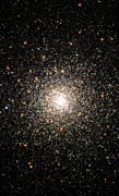 Star Clusters Posters - Globular Star Cluster Ngc 6093 Poster by Stocktrek Images