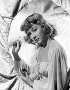 Negligee Framed Prints - Gloria Grahame, 1944 Framed Print by Everett