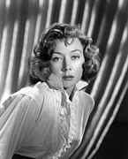 1950s Portraits Prints - Gloria Grahame, Ca. Early 1950s Print by Everett