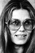Feminist Framed Prints - Gloria Steinem (1934-) Framed Print by Granger
