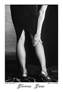 Figure Study Photos - Glorious Gams - Minor Adjustment II by Jerry Taliaferro