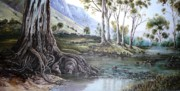 Diko P Art - Glorious Gums - Flinders Ranges by Diko