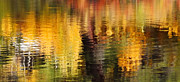 Abstract Water Fall Posters - Glorious Reflections Poster by Terril Heilman