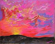 Horizon Pastels - Glorious Sunset 5 by Laura Heggestad