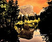 Yosemite National Park Digital Art - Glorious Yosemite by Anthony Caruso