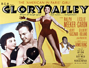 Caron Framed Prints - Glory Alley, Leslie Caron, Ralph Framed Print by Everett