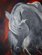 Horse Paintings - Glory by Diana Prickett