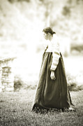 Woman In A Dress Photo Posters - Glory of Tradition Poster by Kris Hanke