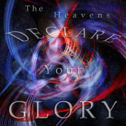 The Heavens Digital Art - Glory1 by Margie Chapman