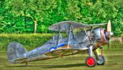 Fighter Plane Photos - Gloster Gladiator 1938 by Chris Thaxter