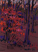 Wooded Originals - Glow at Dusk by Donald Maier
