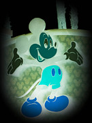 Mickey Photos - Glow In The Dark Mickey by Trish Tritz
