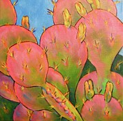 Arizona Memories Paintings - Glow by Nancy Matus