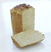 Sliced Bread Posters - Gluten-free Bread Poster by David Munns
