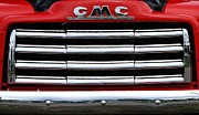 Gmc Framed Prints - GMC front end Framed Print by David Campione
