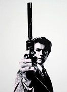 Eastwood Framed Prints - Go Ahead Punk Make My Day Framed Print by Luis Ludzska