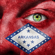 Arkansas State Prints - Go Arkansas  Print by Semmick Photo