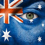 Go Australia Print by Semmick Photo