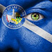 Go Las Vegas Print by Semmick Photo
