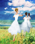 Dancers Artwork - Go Out With Joy by Constance Woods