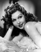 Bare Shoulder Photo Prints - Go West Young Lady, Ann Miller, 1941 Print by Everett