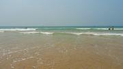 Goa Beach Print by Conceptioner Sunny