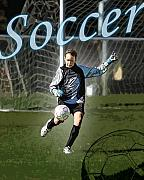 Kelley King Digital Art Prints - Goalie Print by Kelley King