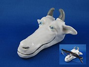 Goat Ceramics Originals - Goat - eyeglass rest by Bob Dann