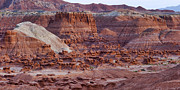Goblin Digital Art - Goblin Valley Triptych Right by Gregory Scott