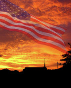 God Photos - God Bless America by Adele Moscaritolo
