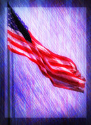 Stars And Stripes Digital Art - God Bless America by Bill Cannon
