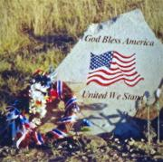 Photogaph Art - God Bless America by Penny Neimiller