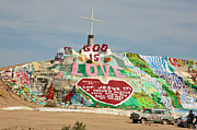 Salvation Mountain Posters - God is Love  Poster by Christy Borgman