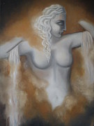 Goddess Print Prints - Goddess Print by GLORY-AN Art Gallery