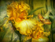 Romantic Art Prints - Goddess Of Summer Print by Carol Cavalaris