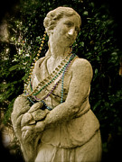 Greek Sculpture Posters - Goddess of the Bayou Poster by Laura Brightwood